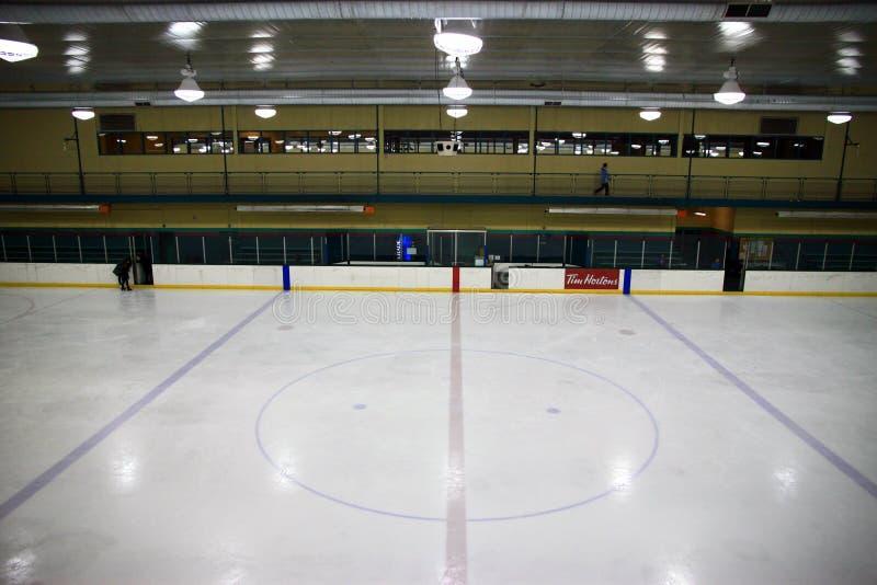 曲棍球溜冰场 库存照片