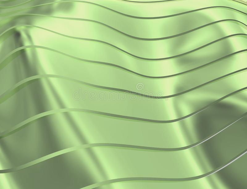 曲线和线的图象在蓝蓝和透明颜色 库存例证