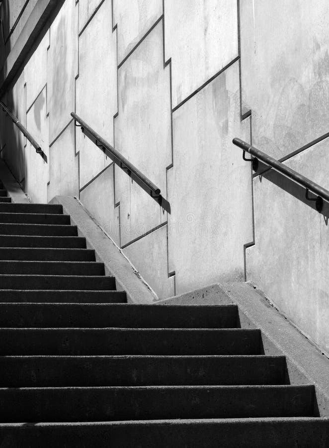 曲线锯的楼梯 免版税库存照片