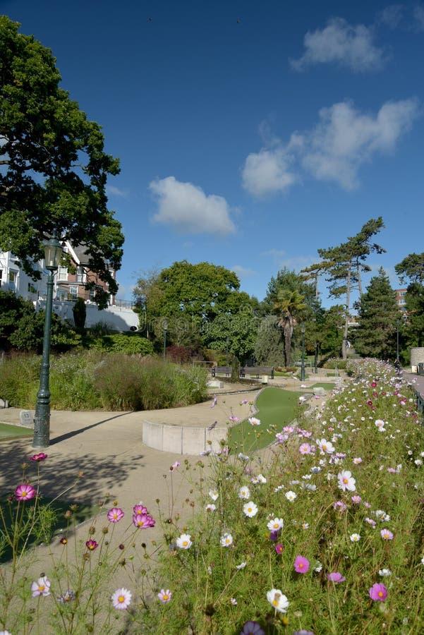 更低的庭院,伯恩茅斯,多西特 图库摄影