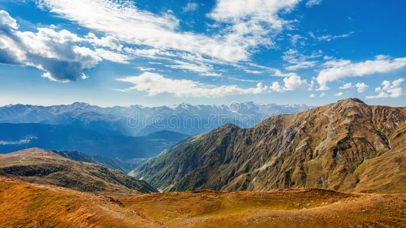 更加伟大的高加索山脉 免版税图库摄影