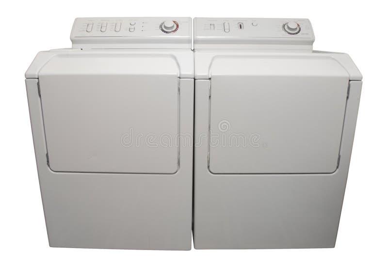 更加干燥的洗衣机 免版税库存照片
