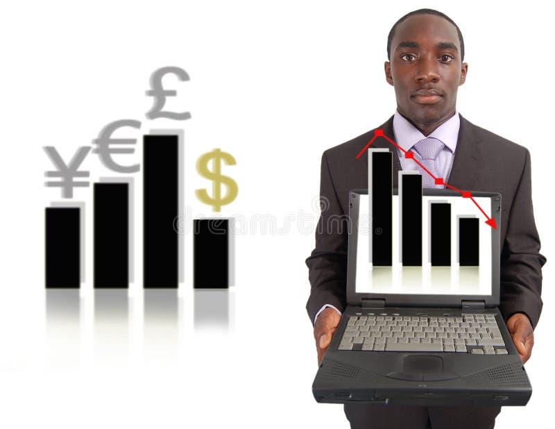 更改市场股票 免版税库存图片