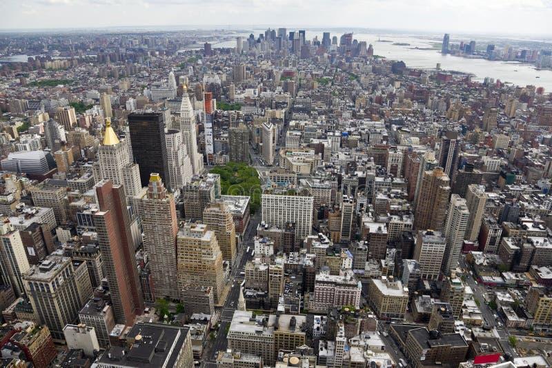 曼哈顿南视图 免版税库存图片
