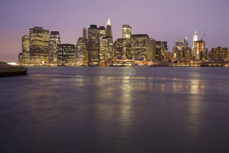 曼哈顿新的地平线约克 免版税图库摄影