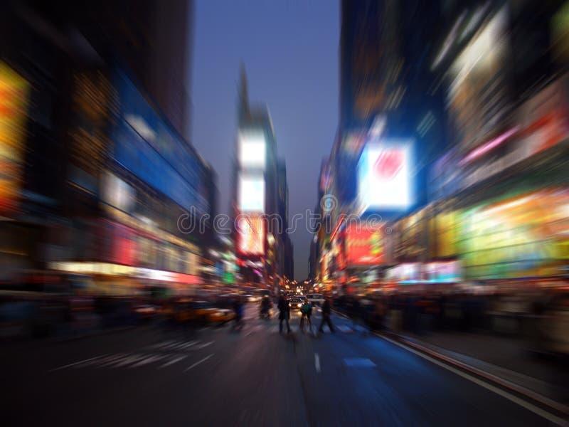 曼哈顿新的方形时间约克 库存照片