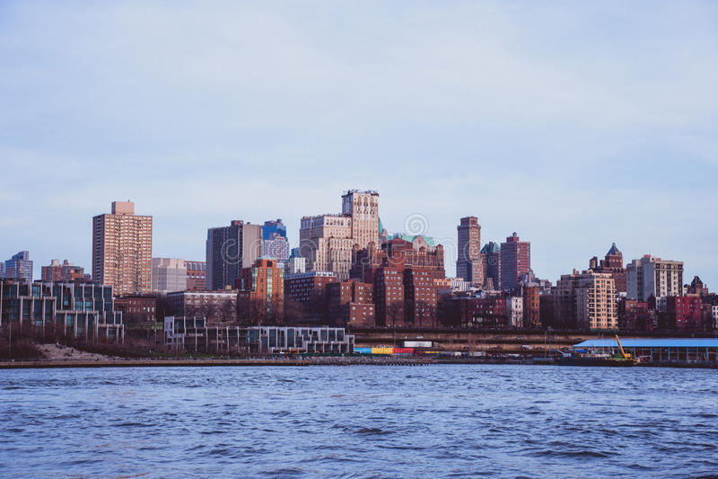 从曼哈顿的布鲁克林 免版税库存照片