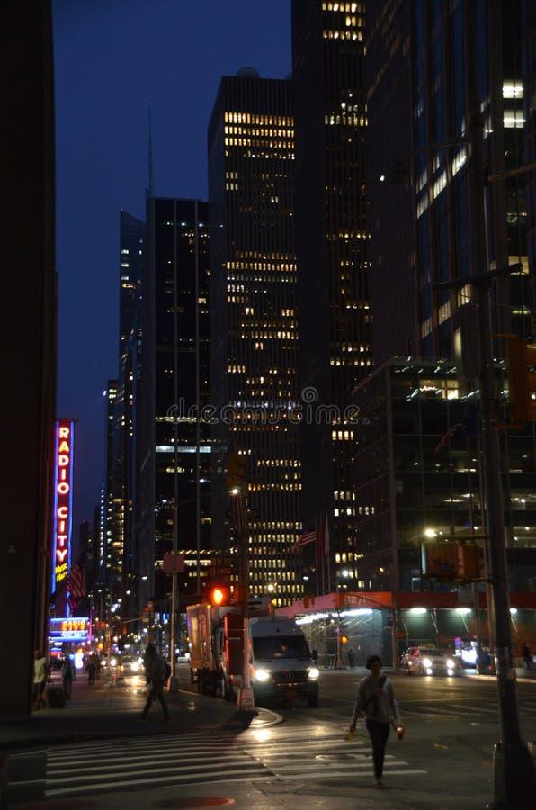 曼哈顿黎明 库存照片