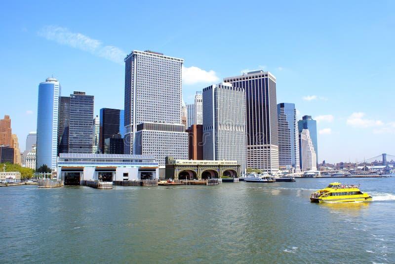 曼哈顿 免版税库存图片