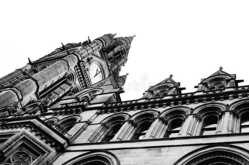 曼彻斯特城镇厅2 图库摄影