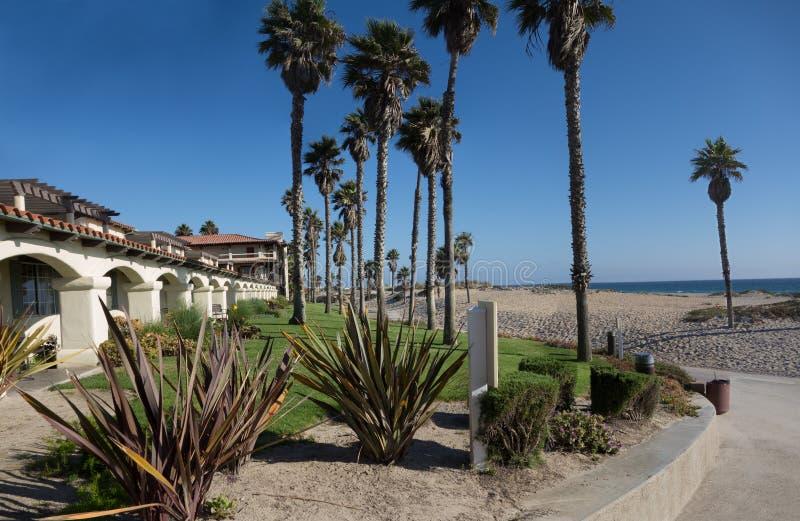 曼德勒海滩, Oxnard,加州 库存照片
