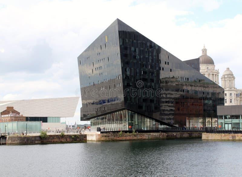 曼海岛,利物浦 免版税库存照片