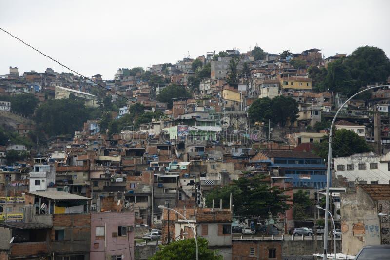 曼盖拉贫民窟 库存图片