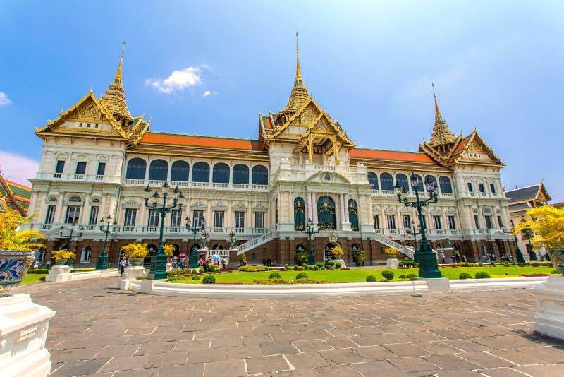 曼谷全部宫殿 免版税库存图片