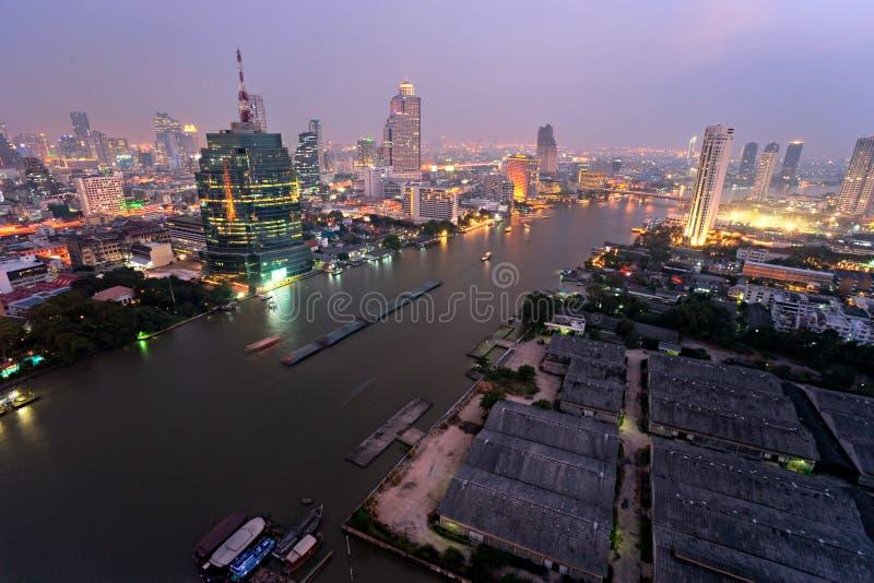 曼谷地平线泰国 图库摄影