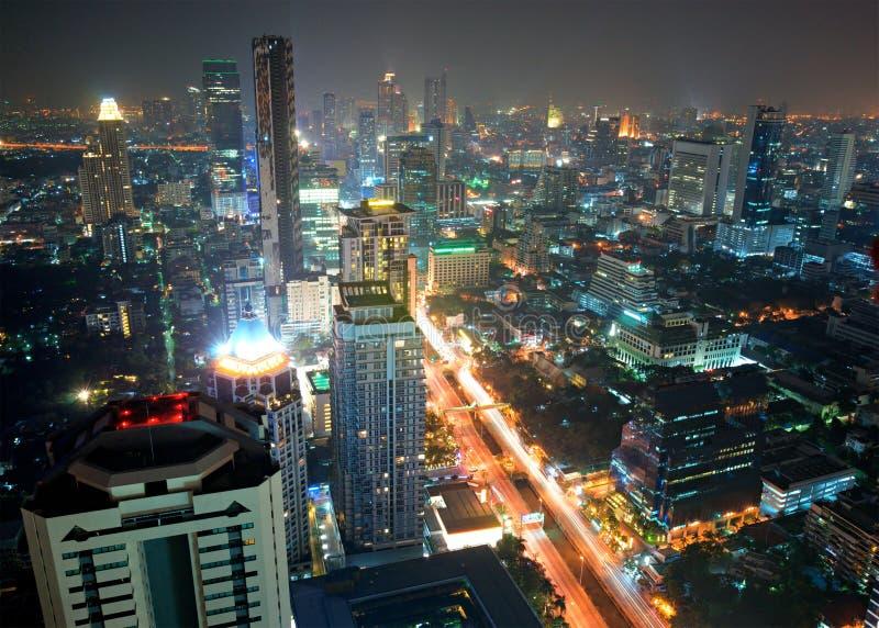 曼谷地平线泰国 库存图片