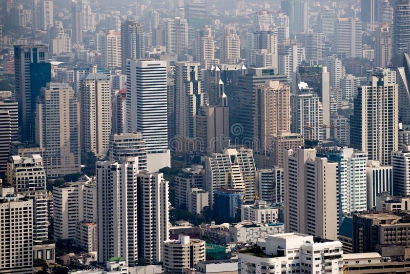 曼谷地平线泰国 库存照片