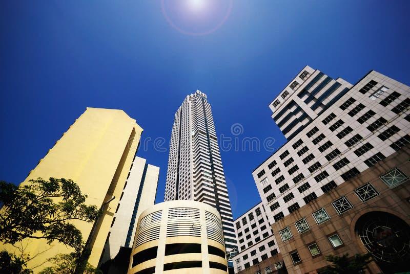 曼谷城镇 免版税图库摄影