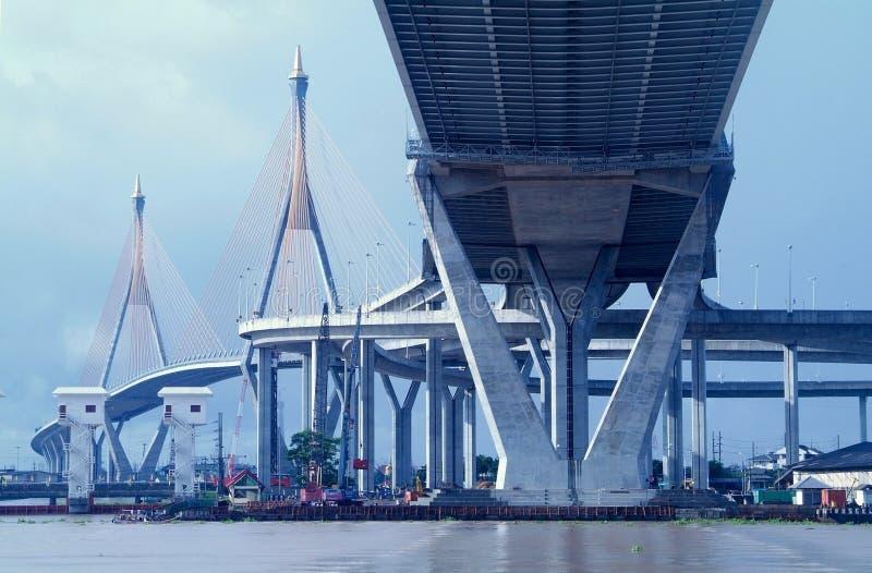 曼谷桥梁泰国 库存图片
