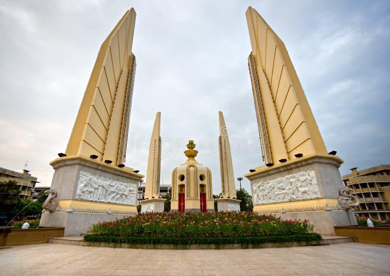 曼谷民主纪念碑泰国 库存照片