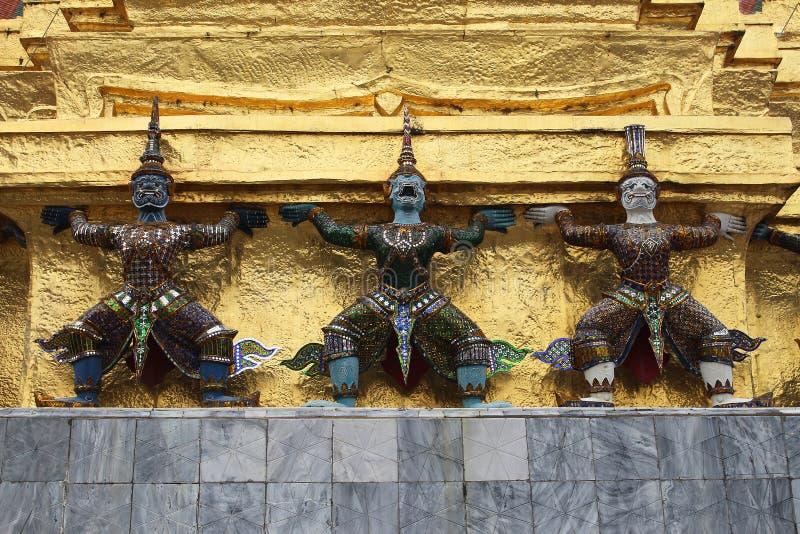 曼谷泰国巨人措施 免版税图库摄影