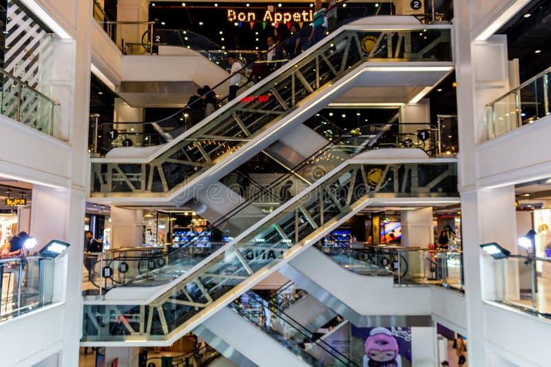 曼谷泰国购物中心泰国 免版税图库摄影