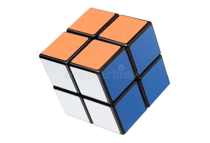 曼谷泰国Rubik的立方体 库存照片