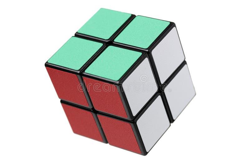 曼谷泰国Rubik的立方体 库存图片