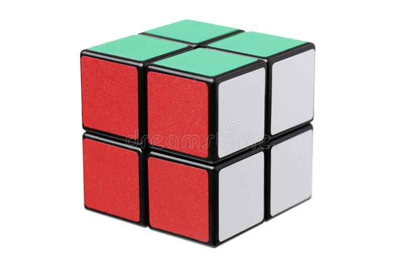 曼谷泰国Rubik的cubei 免版税库存图片
