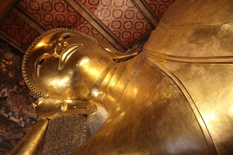 曼谷泰国wat pho 免版税库存照片
