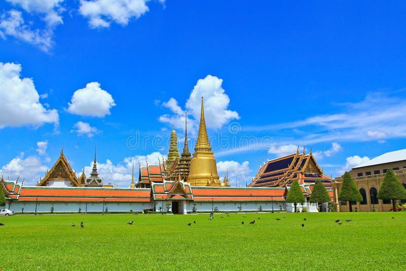 曼谷玉佛寺在泰国 免版税库存照片