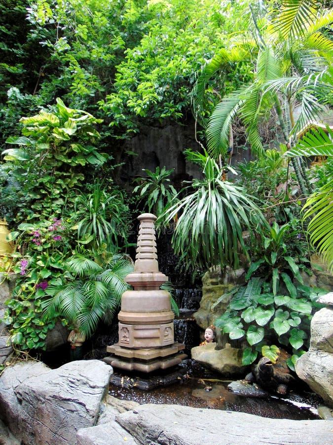 曼谷的绿色生活 库存照片