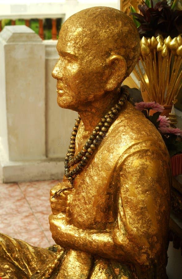 曼谷菩萨雕象 图库摄影