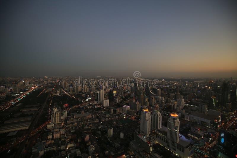 曼谷视图 免版税图库摄影