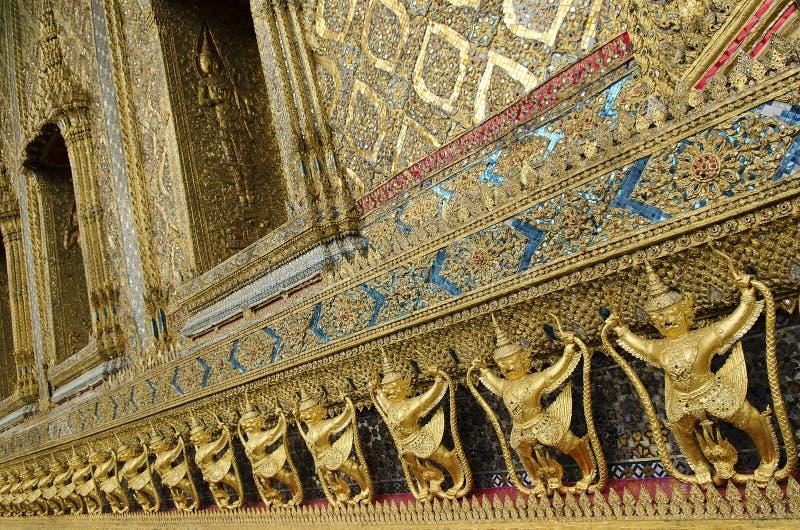 曼谷详细资料全部宫殿寺庙泰国 免版税图库摄影