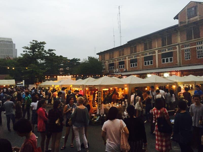 曼谷跳蚤市场 免版税库存照片