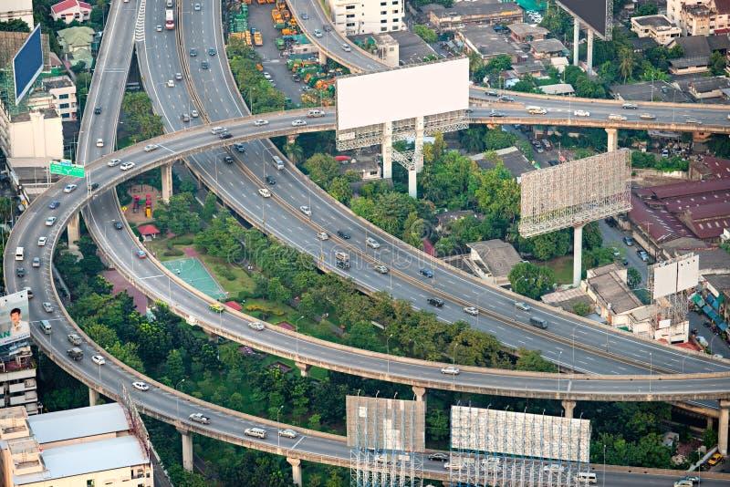 曼谷高速公路泰国 图库摄影
