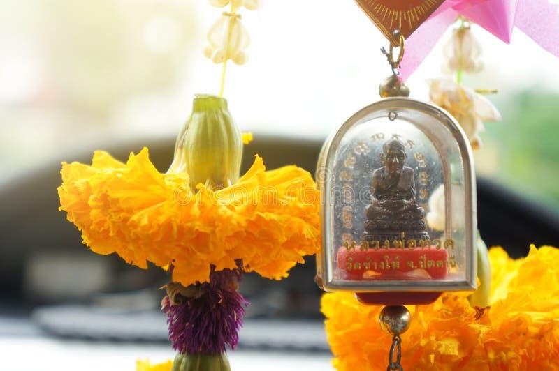 曼谷,泰国2018年2月22日:信仰和微型上帝hu 免版税库存图片