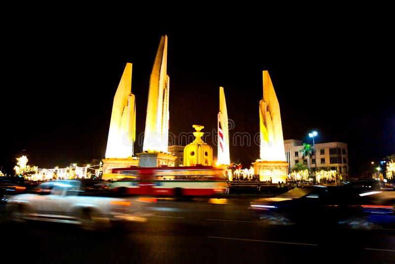 曼谷ddemocracy纪念碑泰国 免版税库存图片
