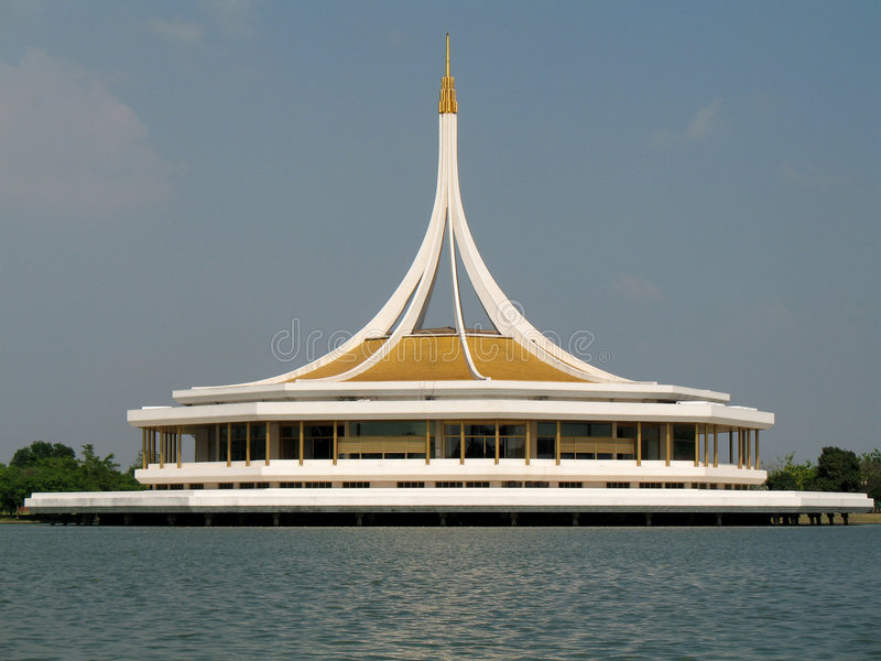 曼谷IX国王公园rama 免版税库存图片