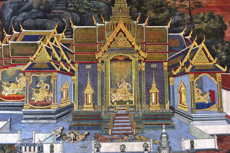 曼谷kaew phra泰国wat 图库摄影