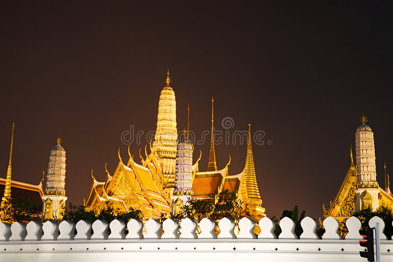 曼谷kaew phra thailandia战争 免版税图库摄影