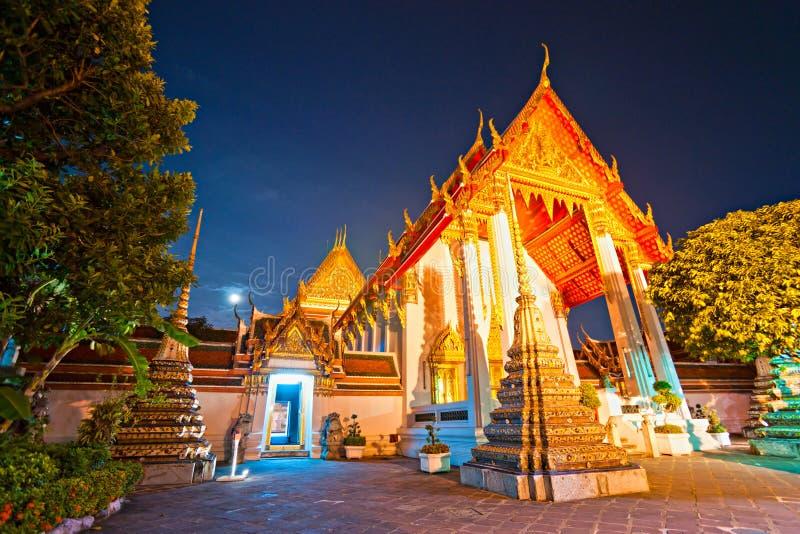 曼谷po thailandia wat 图库摄影