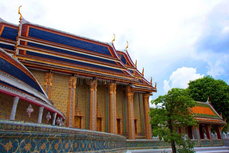 曼谷rajabopit寺庙wat 免版税库存照片