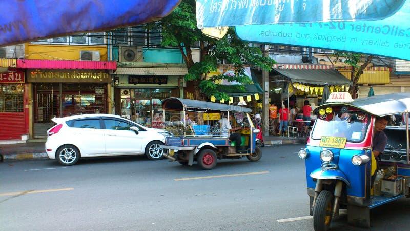 曼谷tuk 免版税图库摄影