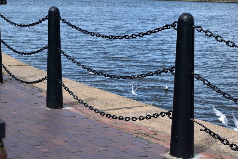 曼彻斯特大运河 库存照片