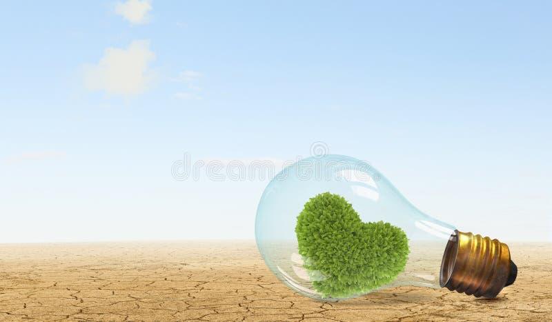 替代背景概念数字式能源例证太阳风 库存图片