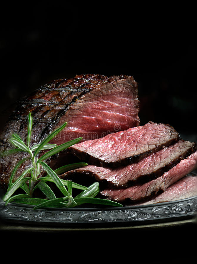 最上端股肉烤牛肉II 免版税库存照片