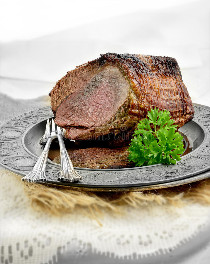 最上端股肉联接 库存图片