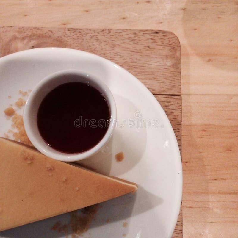 最低纲领派绉纱蛋糕 图库摄影